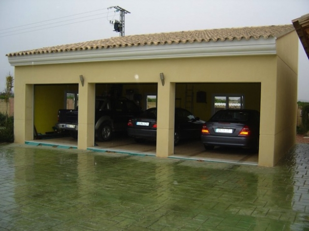 garage 3 coches