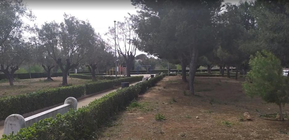 Parque de arena