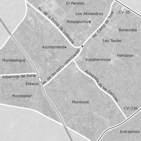 mapa Eliana